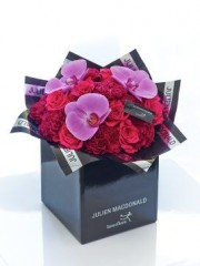 Julien Macdonald Happiness Orchid and Rose Hand-tied