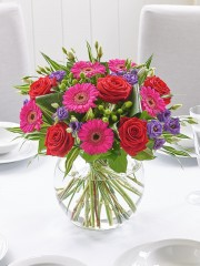 Bold and Bright Floral Globe