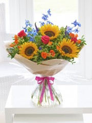 Happy Birthday Summer Rainbow Hand-tied