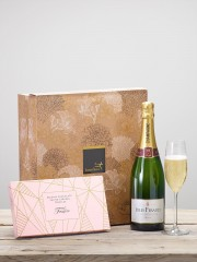 Champagne & Salted Caramel Truffles Gift Set