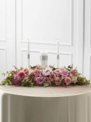 True Romance Candle Arrangement
